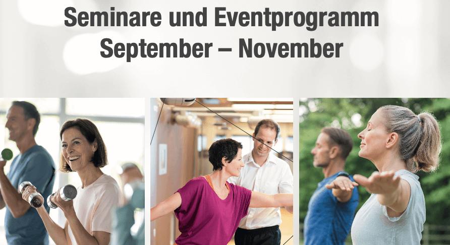 Termine & Events – Gelenke-Wochen
